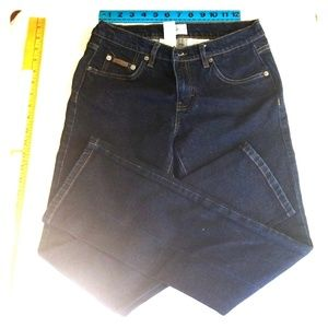 Calvin Klein jeans size 7 low rise boot cut